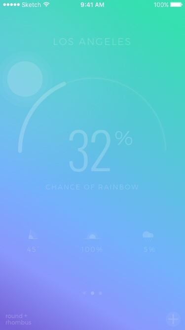 Chance of Rainbow Story – Cloud Cover Low